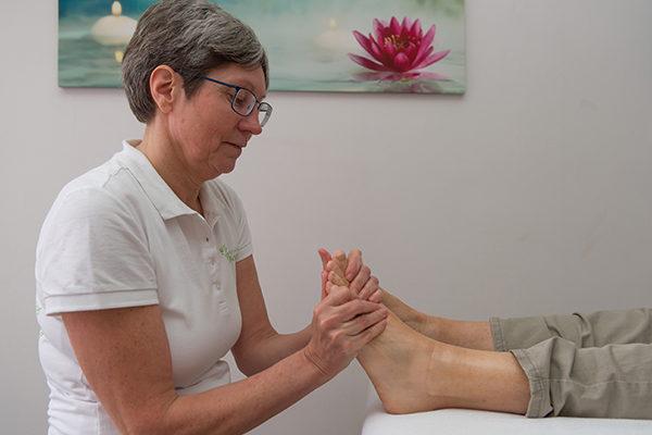Workshop voetmassage